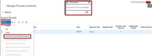 7 Steps to Physical Inventory Count in Oracle SCM Cloud